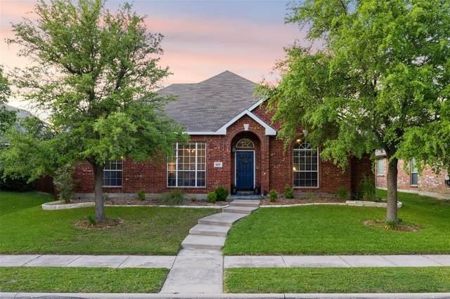 6637 Stewart Boulevard, The Colony, TX 75056 (MLS #14340708) :: The Heyl Group at Keller Williams