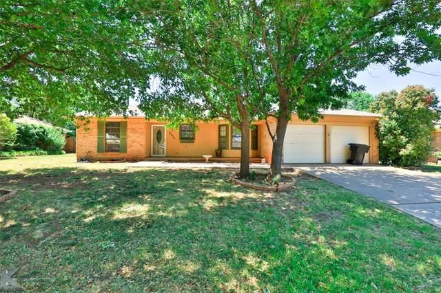 7534 John Carroll Drive, Abilene, TX 79606 (MLS #14341529) :: North Texas Team   RE/MAX Lifestyle Property