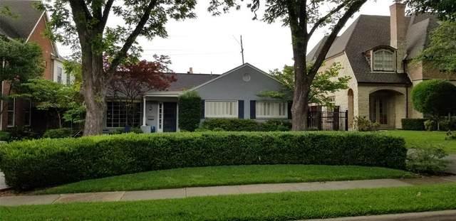 2916 Amherst Avenue, University Park, TX 75225 (MLS #14341573) :: Robbins Real Estate Group