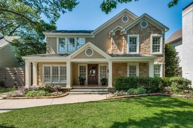 4112 Hanover Street, University Park, TX 75225 (MLS #14341663) :: The Hornburg Real Estate Group