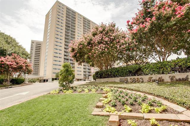 3883 Turtle Creek Boulevard #204, Dallas, TX 75219 (MLS #14341797) :: The Mitchell Group
