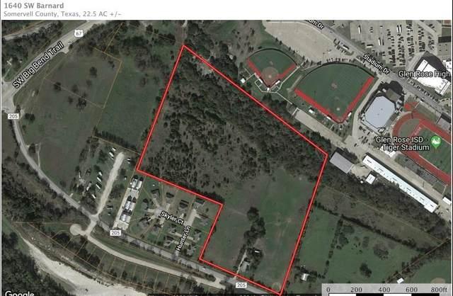 1604 Barnard Street, Glen Rose, TX 76043 (MLS #14341874) :: The Kimberly Davis Group