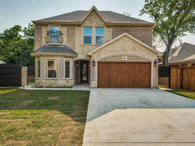 1007 S Irving Heights Drive, Irving, TX 75060 (MLS #14342335) :: Real Estate By Design