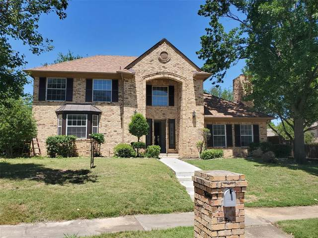 1607 Shady Oaks Place, Corinth, TX 76210 (MLS #14342347) :: Real Estate By Design