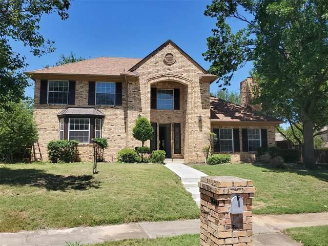 1607 Shady Oaks Place, Corinth, TX 76210 (MLS #14342347) :: Team Tiller