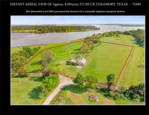 373 Rs County Road 3328, Emory, TX 75440 (MLS #14342782) :: The Daniel Team