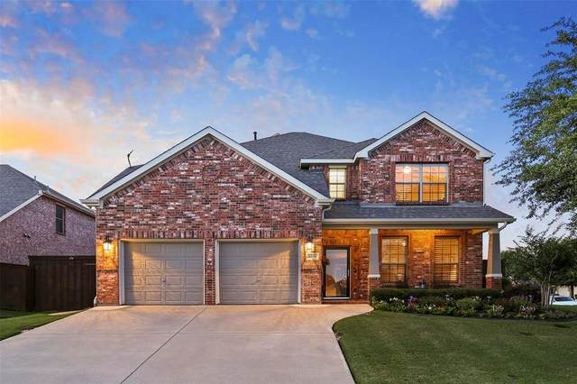 3921 Denridge Lane, Fort Worth, TX 76262 (MLS #14343513) :: The Kimberly Davis Group