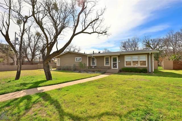 1134 Lexington Avenue, Abilene, TX 79605 (MLS #14343720) :: The Kimberly Davis Group