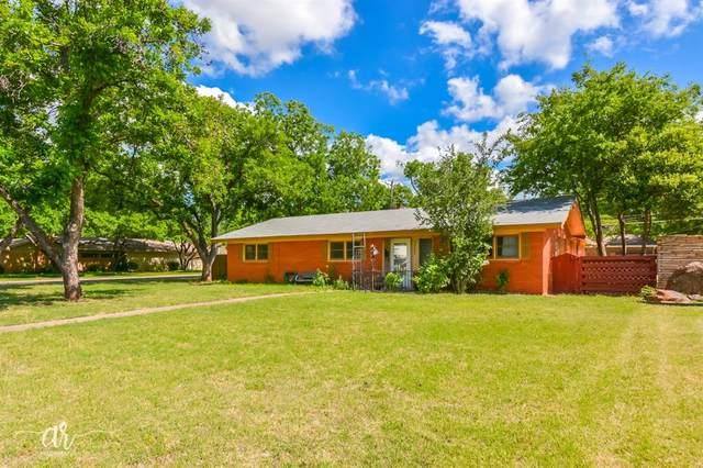 3527 S 20th Street, Abilene, TX 79605 (MLS #14343782) :: Potts Realty Group