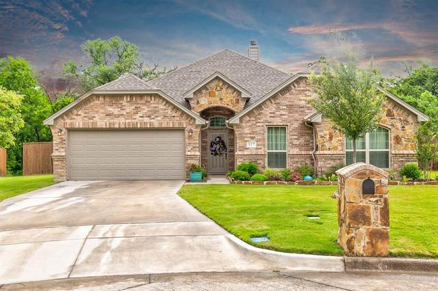 517 Corriente Trail, Azle, TX 76020 (MLS #14344350) :: The Hornburg Real Estate Group