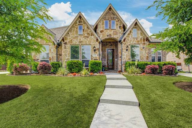 2120 Lewis Canyon Drive, Prosper, TX 75078 (MLS #14344668) :: All Cities USA Realty