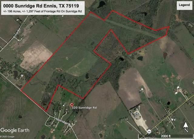 0000 Sunridge Drive, Ennis, TX 75119 (MLS #14345429) :: Hargrove Realty Group