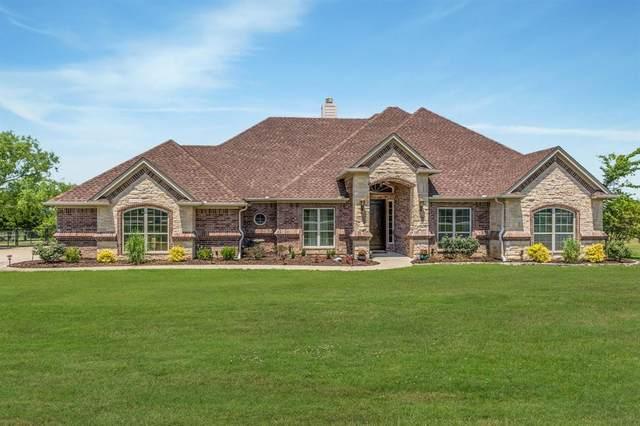 245 Sandstone Lane, Weatherford, TX 76085 (MLS #14345455) :: The Heyl Group at Keller Williams