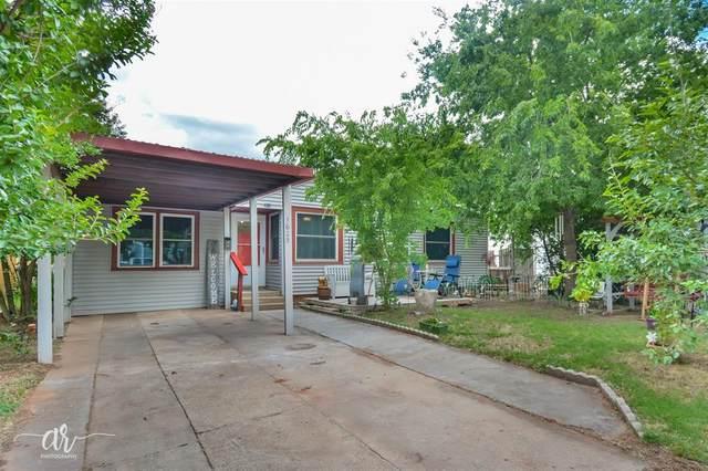 1625 Burger Street, Abilene, TX 79603 (MLS #14345558) :: Baldree Home Team