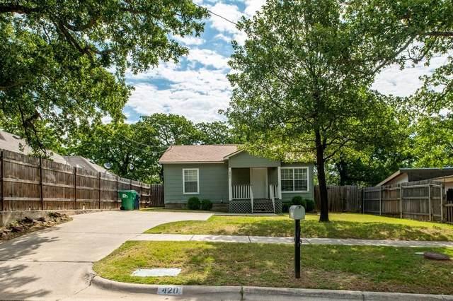 420 Hettie Street, Denton, TX 76209 (MLS #14345751) :: The Mauelshagen Group