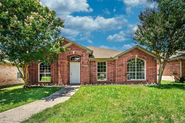 833 Parker Drive, Mesquite, TX 75181 (MLS #14345755) :: Real Estate By Design