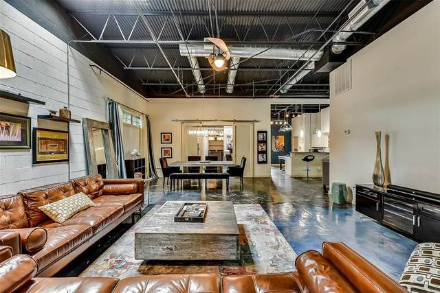1519 Beaumont Street #105, Dallas, TX 75215 (MLS #14346103) :: HergGroup Dallas-Fort Worth