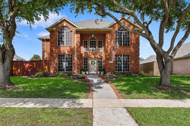 5973 Sandhill Circle, The Colony, TX 75056 (MLS #14346114) :: The Hornburg Real Estate Group