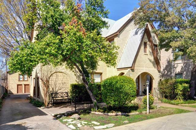 3324 S University Drive, Fort Worth, TX 76109 (MLS #14346145) :: Team Tiller