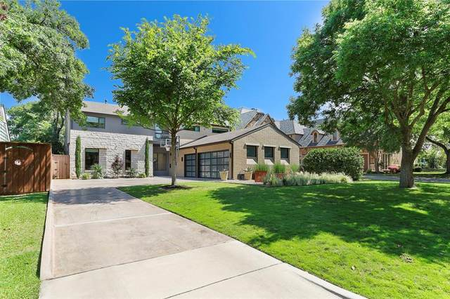 6721 Stichter, Dallas, TX 75230 (MLS #14346377) :: The Hornburg Real Estate Group