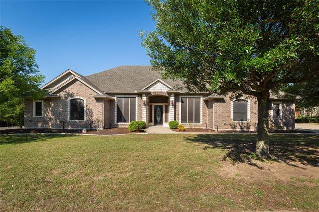 3424 Four Trees Drive, Weatherford, TX 76087 (MLS #14346726) :: The Heyl Group at Keller Williams