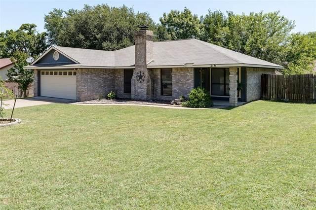 216 Guinevere Drive, Weatherford, TX 76086 (MLS #14347052) :: The Paula Jones Team | RE/MAX of Abilene