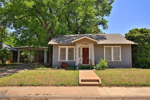 417 Miller Street, Abilene, TX 79605 (MLS #14347329) :: The Mauelshagen Group