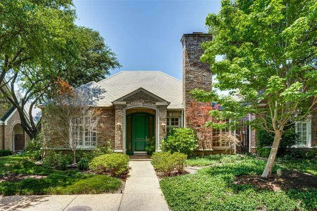 7823 Caruth Court, Dallas, TX 75225 (MLS #14347750) :: The Hornburg Real Estate Group
