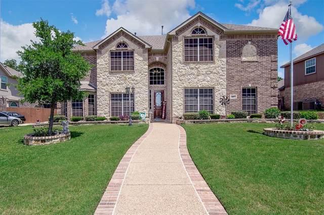 407 Mt Pleasant Court, Kennedale, TX 76060 (MLS #14347848) :: The Rhodes Team