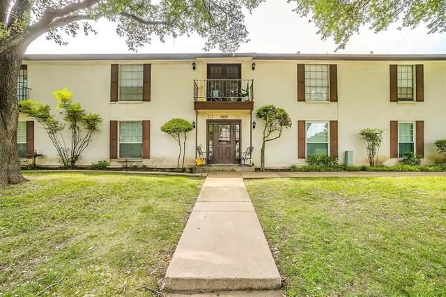 4008 Ridglea Country Club Drive #304, Fort Worth, TX 76126 (MLS #14347989) :: The Hornburg Real Estate Group