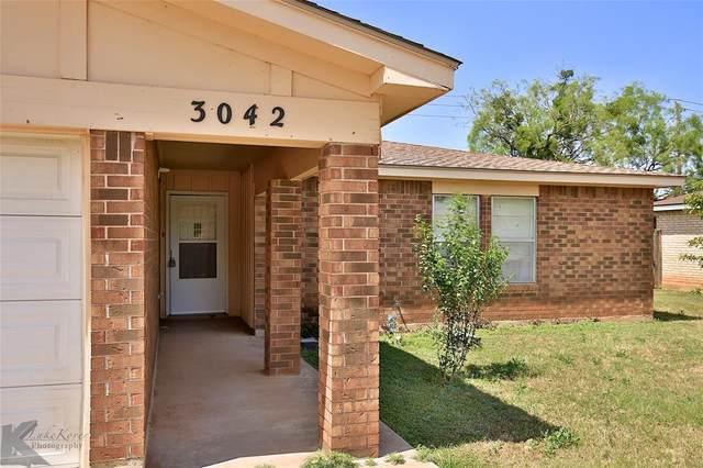 3042 Rex Allen Drive, Abilene, TX 79606 (MLS #14348018) :: RE/MAX Landmark