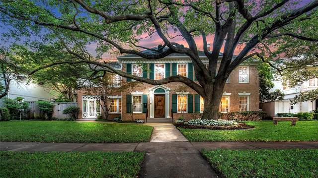 4529 Westway Avenue, Highland Park, TX 75205 (MLS #14348344) :: Robbins Real Estate Group