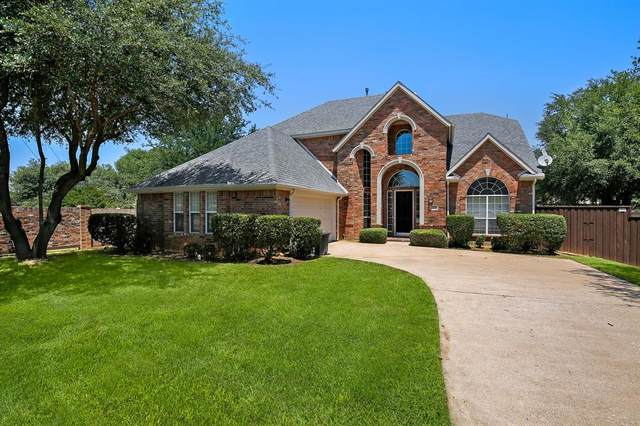 2105 Birdwood Circle, Corinth, TX 76210 (MLS #14348368) :: Team Tiller