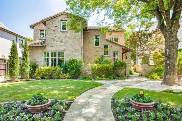 4321 Livingston Avenue, Highland Park, TX 75205 (MLS #14348437) :: The Chad Smith Team
