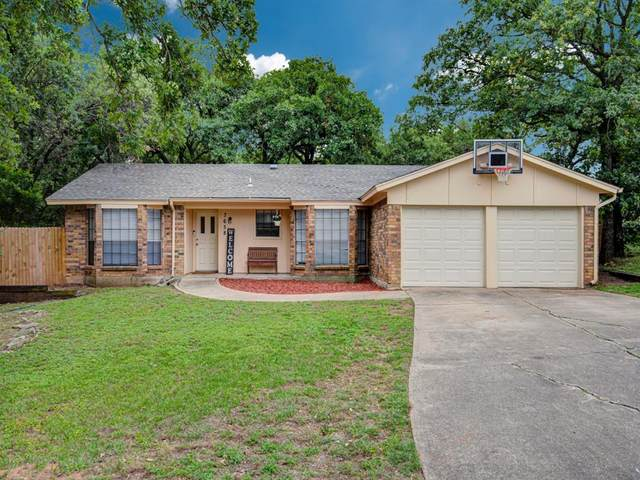 7658 Blue Carriage Court, Fort Worth, TX 76120 (MLS #14348477) :: Hargrove Realty Group