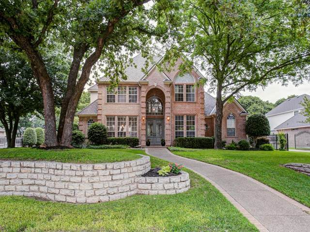 2302 Danbury Drive, Colleyville, TX 76034 (MLS #14348701) :: The Heyl Group at Keller Williams