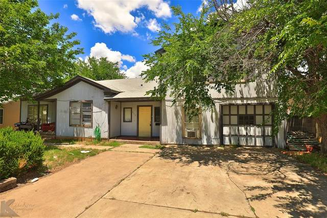 672 E North 15th Street, Abilene, TX 79601 (MLS #14348884) :: Robbins Real Estate Group