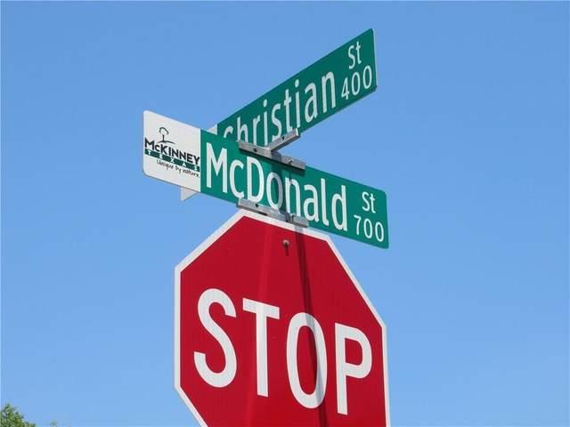707 N Mcdonald Street, Mckinney, TX 75069 (MLS #14348961) :: Frankie Arthur Real Estate