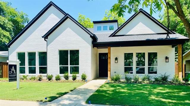 5820 Trigg Drive, Westworth Village, TX 76114 (MLS #14349058) :: The Hornburg Real Estate Group