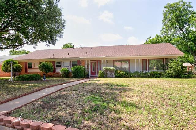 4073 Concord Drive, Abilene, TX 79603 (MLS #14349167) :: The Heyl Group at Keller Williams