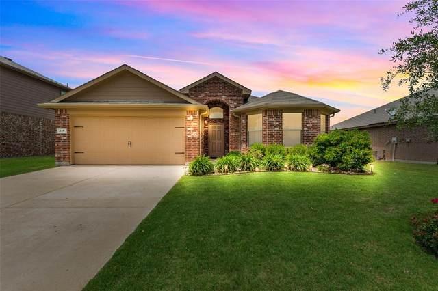 216 Oaklawn Drive, Ponder, TX 76259 (MLS #14349365) :: The Kimberly Davis Group