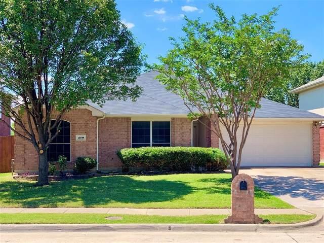 210 Flushing Quail Drive, Arlington, TX 76002 (MLS #14349779) :: The Kimberly Davis Group