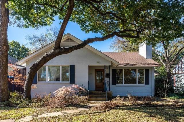 935 Lausanne Avenue, Dallas, TX 75208 (MLS #14349834) :: Real Estate By Design