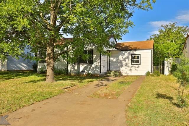 1474 Kirkwood Street, Abilene, TX 79603 (MLS #14350048) :: Potts Realty Group