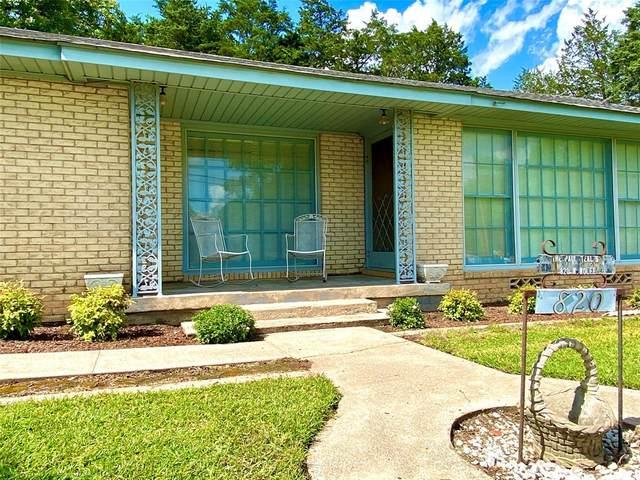 820 W Wolfe Street, Grand Saline, TX 75140 (MLS #14350101) :: Real Estate By Design