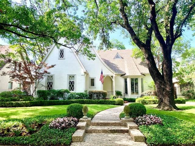 4561 Lorraine Avenue, Highland Park, TX 75205 (MLS #14350188) :: The Chad Smith Team