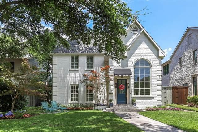 3204 Purdue Avenue, University Park, TX 75225 (MLS #14350241) :: The Heyl Group at Keller Williams