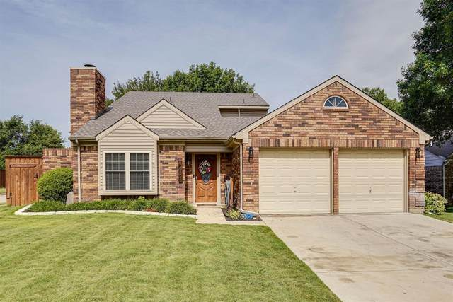 5401 Colonial Court, Flower Mound, TX 75028 (MLS #14350478) :: Real Estate By Design