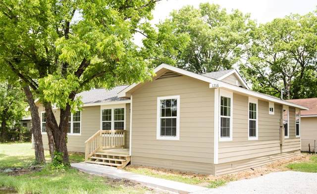 1216 W 16th Avenue, Corsicana, TX 75110 (MLS #14350925) :: Hargrove Realty Group