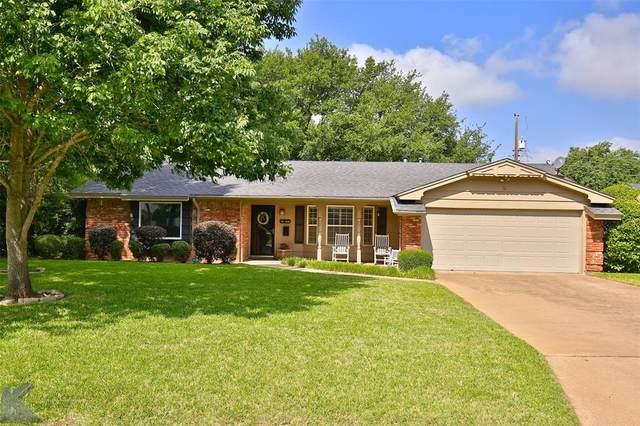 2132 Sylvan Drive, Abilene, TX 79605 (MLS #14351023) :: Century 21 Judge Fite Company